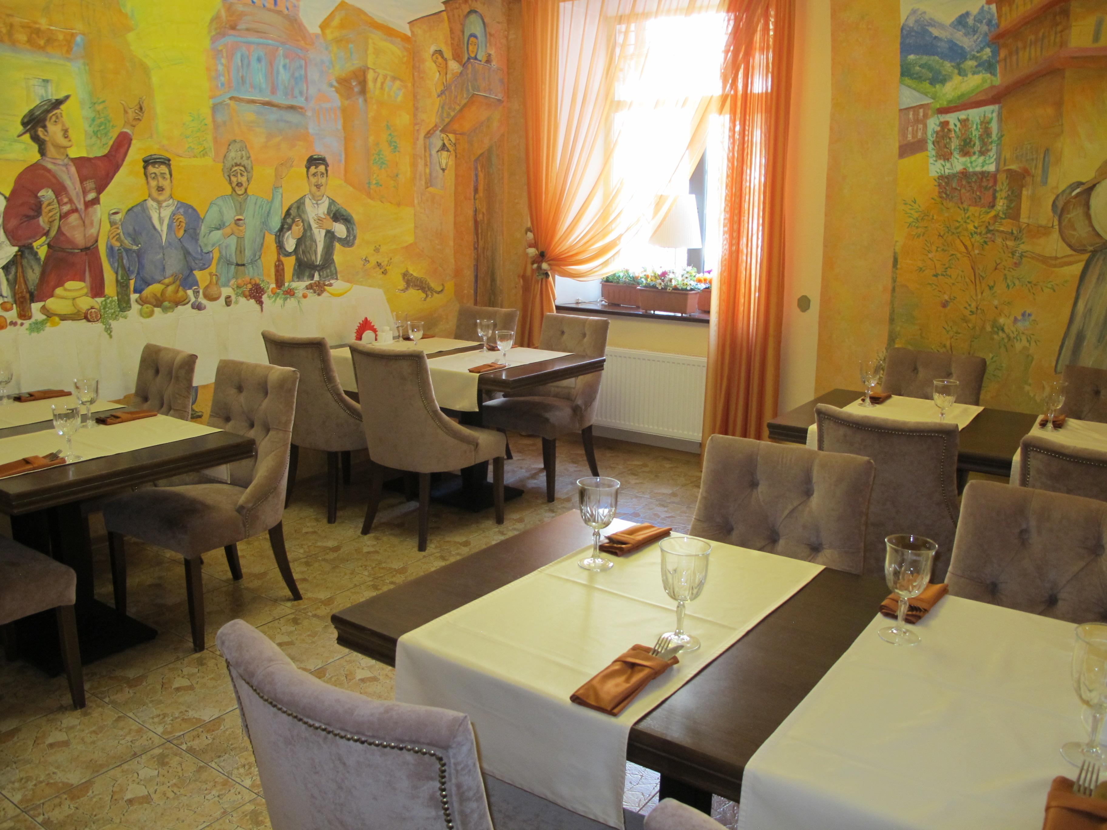 Ресторан на Гаванской ул., 25, малый зал