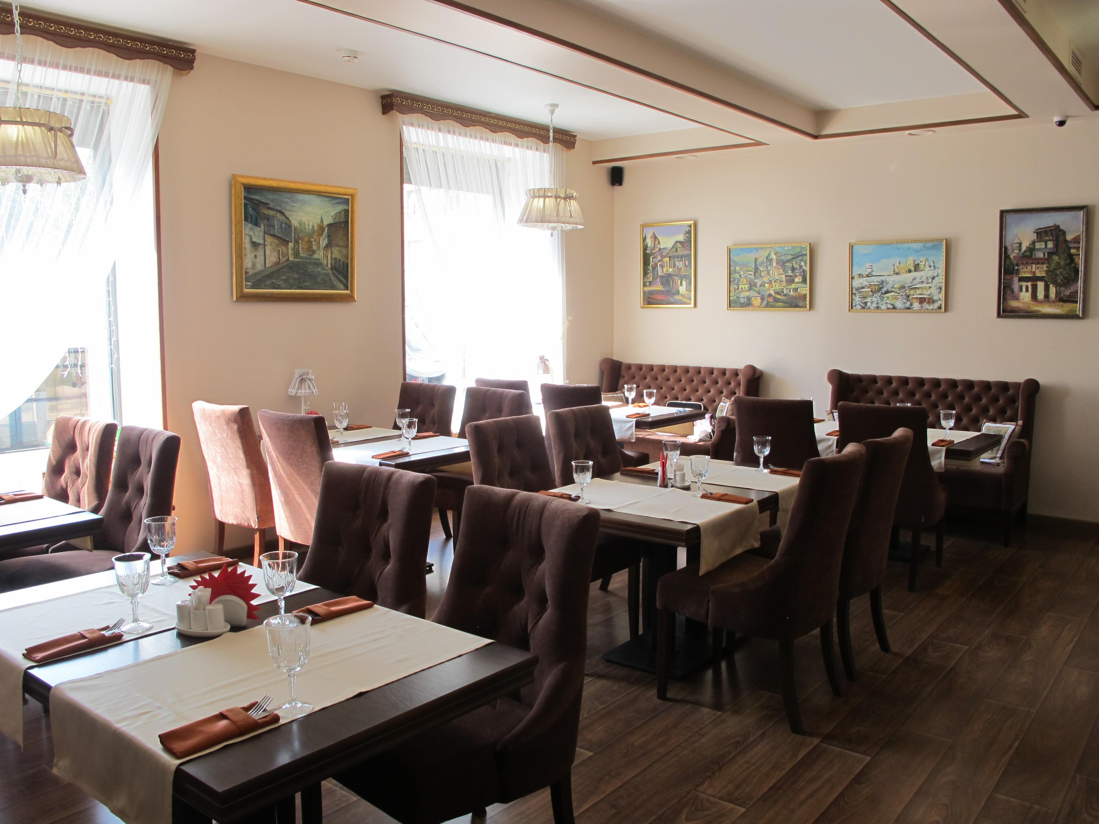 Ресторан на Гаванской ул., 25, первый зал